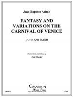 Fantasy and Variations on the Carnival of Venice Sheet Music