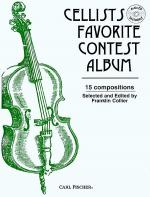 Cellists Favorite Contest Album Sheet Music