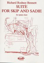 Richard Rodney Bennett: Suite For Skip And Sadie For Piano Duet Sheet Music