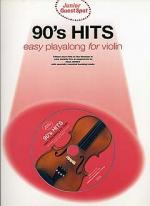 Junior Guest Spot: 90's Hits - Easy Playalong (Violin) Sheet Music