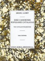 10 Canciones Populares Cantalanas Sheet Music