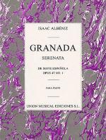 Issac Albeniz: Granada Serenata No.1 (Suite Espanola) Op.47 Sheet Music