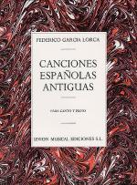 Canciones Espanolas Antiguas (Canto Y Piano) Sheet Music