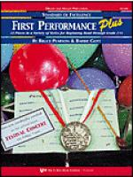 Standard of Excellence: First Performance Plus-Drum & Mallet Percussion Sheet Music