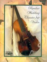 Popular Wedding Classics for Violin Sheet Music