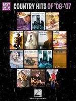 Country Hits of '06-'07 Sheet Music