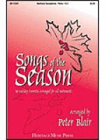 Songs of the Season - Baritone Saxophone (Parts 1 & 4) Sheet Music