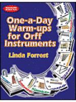 One-A-Day Warm-Ups for Orff Instruments Sheet Music