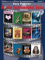 Easy Popular Movie Instrumental Solos for Strings Sheet Music