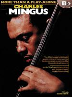More Than A Play-Along: Charles Mingus (Bb Edition) Sheet Music