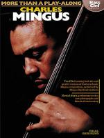 More Than A Play-Along: Charles Mingus (Bass Clef Edition) Sheet Music
