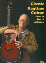 Classic Ragtime Guitar DVD Sheet Music
