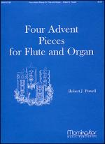 Four Advent Pieces for Flute and Organ Sheet Music
