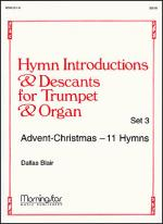 Hymn Introductions and Descants for Trumpet and Organ, Set 3 Sheet Music