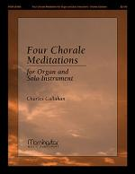 Four Chorale Meditations for Organ and Solo Instrument Sheet Music