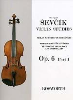 Violin Studies - Violin Method For Beginners Op.6 Part 1 Sheet Music