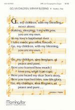 Go, My Children, with My Blessing Sheet Music