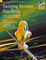Swinging Baroque Play-Along for Flute Sheet Music