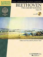 Beethoven - Two Short Sonatas, Opus 49 Sheet Music