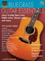 Bluegrass Guitar Essentials - Learn to Play Bass Runs, Fiddle Tunes, Bluesy Solos, and More Sheet Music