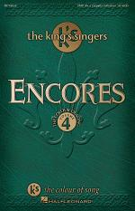 Encores - The King's Singers Colour of Song, Volume 4 Sheet Music