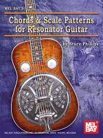 Chords & Scale Patterns for Resonator Guitar Chart Sheet Music