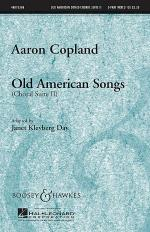 Old American Songs (Choral Suite II) Sheet Music
