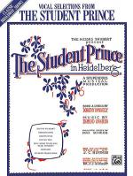 The Student Prince (Vocal Selections) Sheet Music