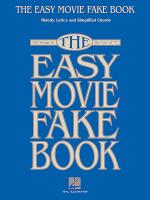 The Easy Movie Fake Book Sheet Music