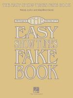 The Easy Show Tunes Fake Book Sheet Music