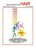 Vocal Selections From Hair Sheet Music