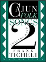 Cajun Folk Songs II Sheet Music