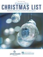 Grown-Up Christmas List Sheet Music