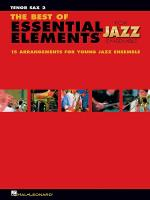 The Best of Essential Elements for Jazz Ensemble Sheet Music