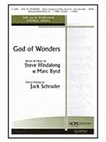 God of Wonders Sheet Music