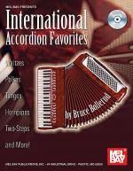 International Accordion Favorites Book/CD Set Sheet Music