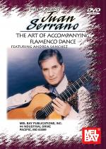 Juan Serrano, The Art of Accompanying Flamenco Dance DVD Sheet Music