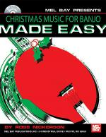 Christmas Music for Banjo Made Easy Book/CD Set Sheet Music