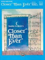 Closer Than Ever - Vocal Selection Sheet Music