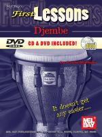 First Lessons Djembe Book/CD/DVD Set Sheet Music