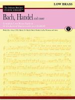 Bach, Handel and More - Volume X (Low Brass) Sheet Music