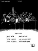 Working - Vocal Selections Sheet Music