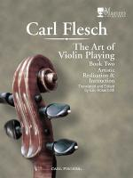 The Art of Violin Playing Sheet Music