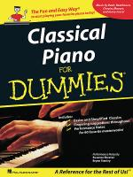 Classical Piano Music for Dummies Sheet Music