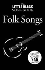 Little Black Songbook of Folk Songs Sheet Music