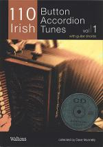 110 Irish Button Accordion Tunes, Volume 1 Book/2-CD Set Sheet Music