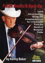 Fiddle Breaks and Back-Up DVD Sheet Music