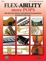 Flex-Ability More Pops -- Solo-Duet-Trio-Quartet with Optional Accompaniment Sheet Music