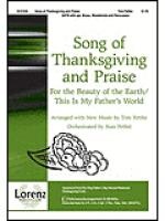 Song of Thanksgiving and Praise Sheet Music