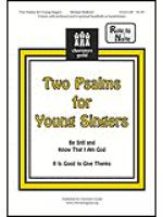Two Psalms for Young Singers Sheet Music